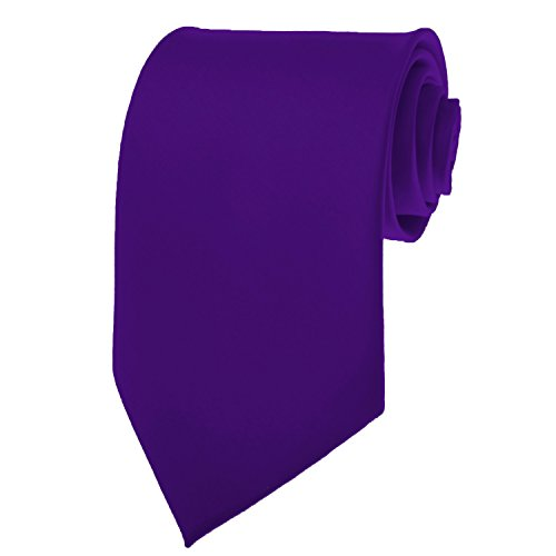 (Formal Tie Solid Dark Purple TO-31)