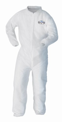 kimberly-clark-kleenguard-a10-polypropylene-light-duty-disposable-coverall-elastic-wrist-white-size-