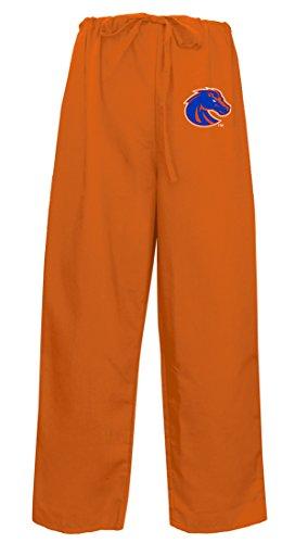 BEST Boise State Scrubs Pants Drawstring Scrub Bottoms MEN LADIES LG