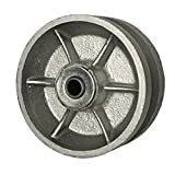 """5"""" x 2"""" V Groove Wheel for Casters or Equipment Service Caster Brand"""