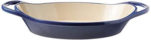 Lodge Oval casserole, 2 Quart, Blue