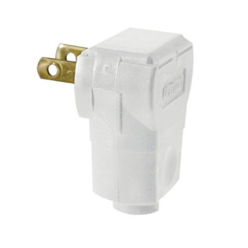 Leviton Easy Wire 15 amp 125-Volt Angle Plug from Leviton