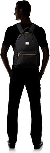316nuX6zjLL - Herschel Nova Mid-Volume Backpack, Black, One Size