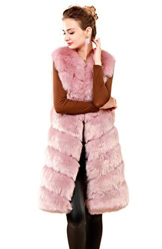 Chaleco Adulto Chaqueta Folobe Faux Soft Blush ' Womens fTwFTqX6