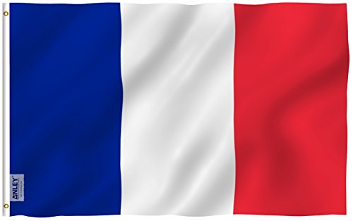 Anley [Fly Breeze 3x5 Foot France Flag - Vivid Color and UV