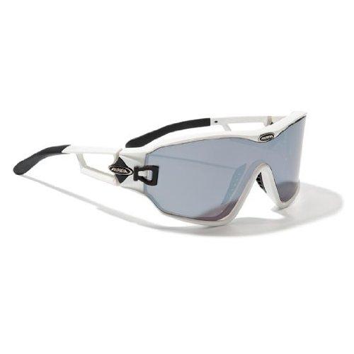 Sportbrille Alpina S72 DLQM Schwarz matt/Anthrazit glanz & white