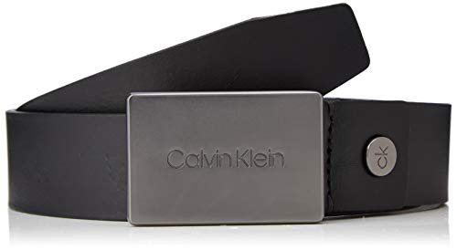 001 Calvin Klein uomo Cintura nero nera TUXwfnaq