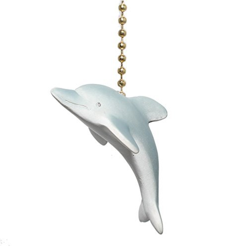 - Clementine Designs Tropical Dolphin Porpoise Ocean Life Fan Light Pull