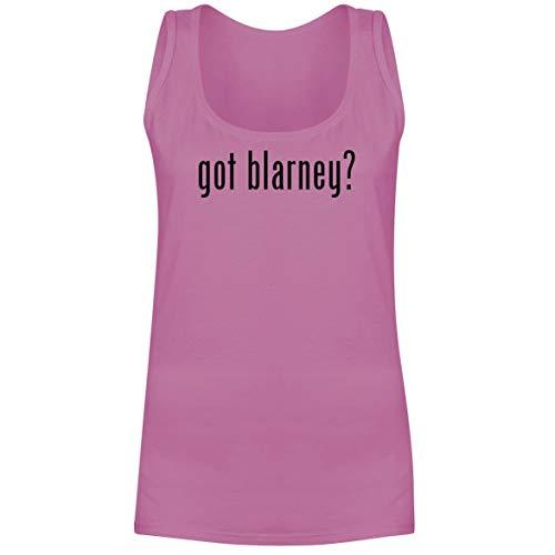 The Town Butler got Blarney? - A Soft & Comfortable Women's Tank Top, Pink, - Belleek Novelty