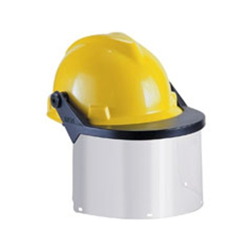 Klein 59988 Visor for Hard Hats and Caps, Clear Flat