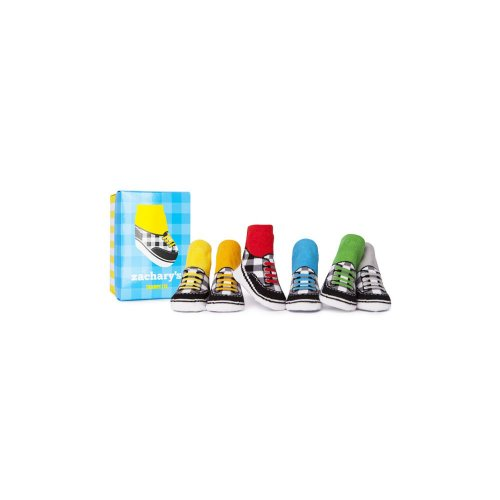 Trumpette Baby Shoes - Trumpette Baby-Boys Newborn Zachary Socks, Assorted, Infant