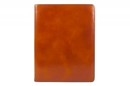 Bosca Old Leather 8.5 X 11 Pad Portfolio (Amber) (Bosca Partners Brief)
