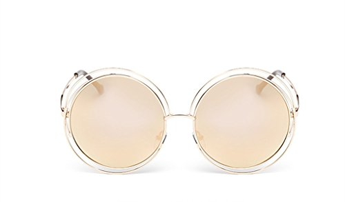 The Metal Round Frame Color Film Sunglasses For - Deal Canada Sunglasses