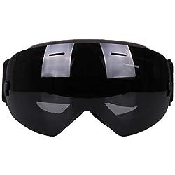 VORCOOL Gafas de esquí Anti-Ultravioleta antiniebla Moto de Nieve Gafas de Seguridad Protectoras de la Bicicleta
