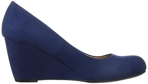 Suede Laundry Super Navy Chinese Nima Pump WoMen by CL q1TwnH8
