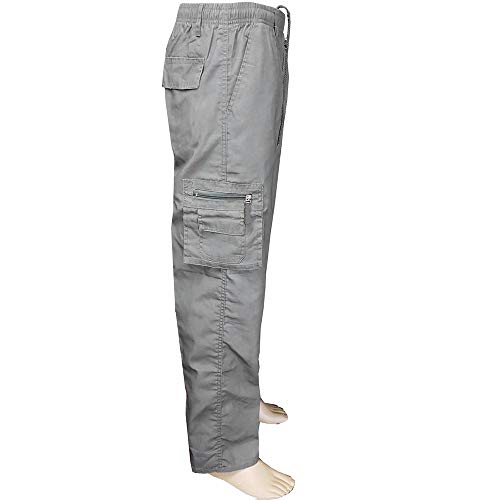 Fashion Men's Sport Jogging Fitness Pant Casual Loose Sweatpants Drawstring Pant,PASATO Clearance Sale(Gray, L) by PASATO (Image #1)'