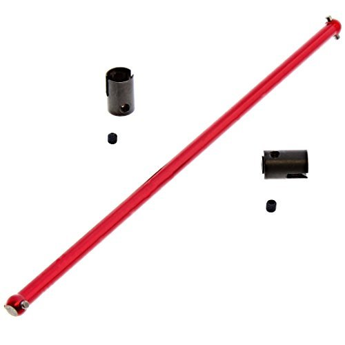 - Losi 1/14 Mini 8ight-T Truggy CENTER DRIVE SHAFT & DIFFERENTIAL OUTDRIVES by Team Losi