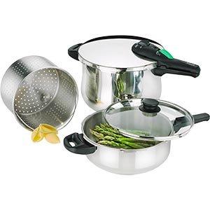 Fagor Rapida 5-pc Pressure Cooker Set from Fagor Rapida
