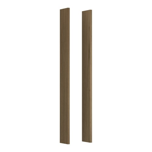 KOHLER K-99675-1WM Medicine Cabinet Wood Side Kit for Tailored Vanities,  Walnut Flax