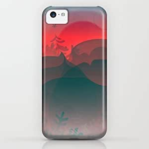 Society6 - Winter Sunset iPhone & iPod Case by Helen Kaur