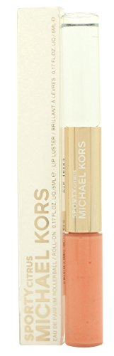 Price comparison product image MICHAEL KORS Collection Sporty Citrus Rollerball & Lip Luster Duo, 0.34 Ounce