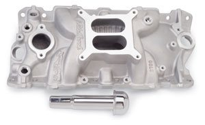 Edelbrock 2703 Performer EPS Intake Manifold with Oil Fill Tube and Breather by Edelbrock - Performer Eps Manifold