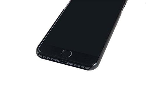 Spada 4052335032023Coque en aluminium brossé pour Apple iPhone 6/6S/7noir