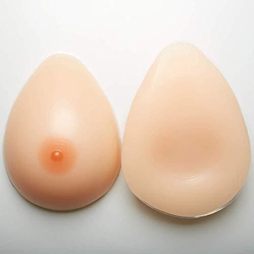 Paia Auto Mastectomia B protesi reggiseno Individui Seno Coppa Cosplay travestimento Inserti 1 adesivo Seni In Di Post Transgender Silicone Da dxqnw06HB