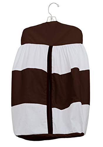 Baby Doll Lodge Collection Diaper Stacker, Chocolate