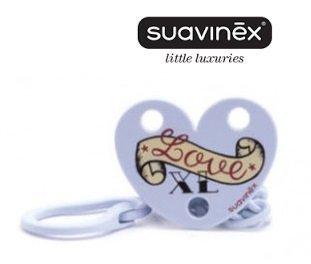 Suavinex -Love Clip Broche Pinza Love, 0M, Azul Xl: Amazon ...