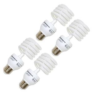 Westinghouse 3796100, 23w CFL Light Bulb, (100W Equal) 6500K Daylight 82 CRI 1600Lm, 4-Pack