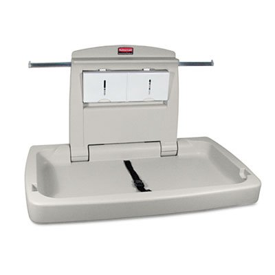 Sturdy Station 2 Baby Changing Table, Platinum, Sold as 1 Each