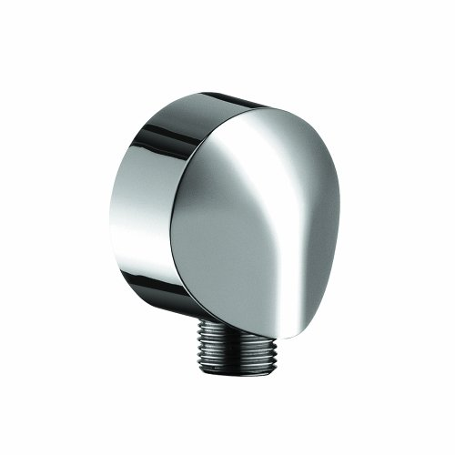 Hansgrohe 27458003 Wall Outlet with Dual Check Valve, (Shower Outlet Elbow)