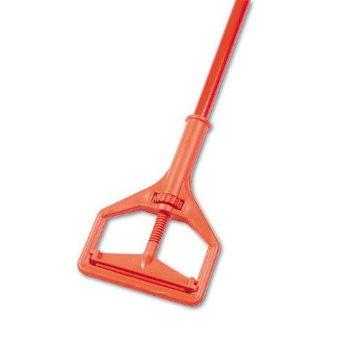 Impact 94 1'' Diameter x 7-5/8'' Head x 64'' Length, Orange Fiberglass Color, Plastic Janitor Mop Handle by Unknown