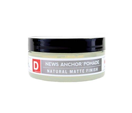 (Duke Cannon News Anchor Pomade for Natural Matte Finish, 2 oz - Travel Size )
