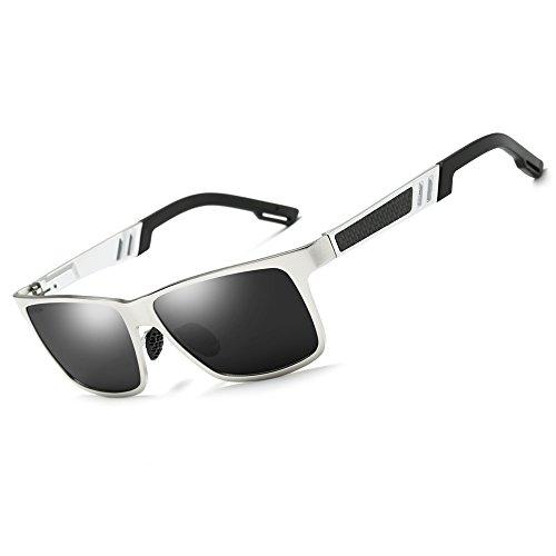 KITHDIA Men Women Aluminum Polarized Mens Sunglasses Mirror Sun - Sunglasses How To Store