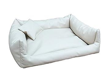 Cuscini Per Divano Bianco Pelle.Rex Cuccia Letto Piazza In Eco Pelle L 80 X 100 Colore Bianco