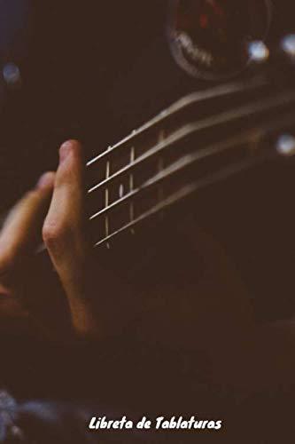 Libreta de Tablaturas: Cuaderno de Tablaturas de Guitarra | 110 Pginas para Escribir tu Msica | Pentagramas en Blanco para Componer | Libreta para Composicin de Guitarra (Spanish Edition)