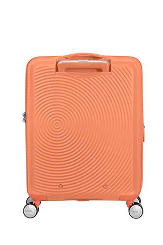 American Tourister Soundbox - Spinner S Espandibile Bagaglio a Mano, 55 cm, 35.5/41 L, Arancione (Cantaloupe) 2 spesavip
