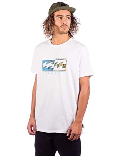 10 Maglietta Billabong Bianco Tee white Inversed Uomo Ss 8TnqPw6xa