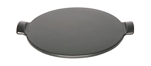 Emile Henry Made In France Flame Individual Pizza Stone, 10'', Charcoal by Emile Henry