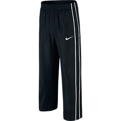 Nike N45 Core Straight Leg Woven Boys Pants-Black (Medium) (Boys Nike Pants)