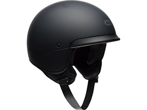 Bell Scout Air Solid Matte Black Cruiser Motorcycle Helmet Size Xsmall (D.O.T. ()