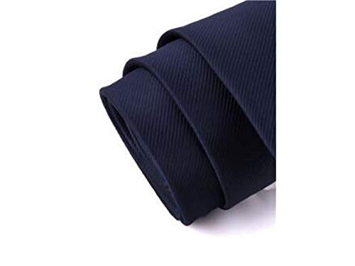 Wedding Stripe Great ADream Formal Occasion Color Dark Party Blue Casual Solid Necktie Men's 4xAIqwIBY
