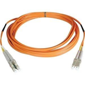 Tripp Lite Duplex Multimode 50/125 Fiber Patch Cable - (LC/LC), 5M (16-ft.) - N520-05M