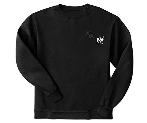 Big Dogs Classic Crest Crew 4X - Sweater Rich Crew