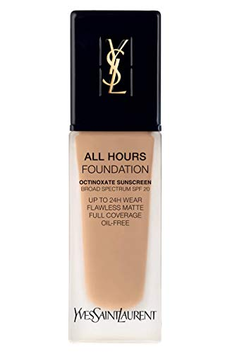 (YVES SAINT LAURENT All Hours Full Coverage Matte Foundation SPF 20 25ml # BD40 Warm Sand)