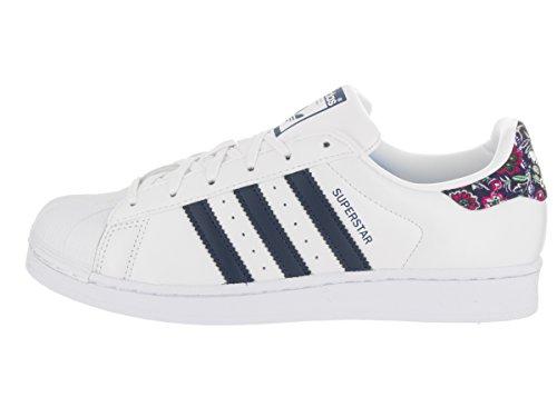 De Vrouwen Van Adidas Superstar Stichting Ongedwongen Sneaker Wit