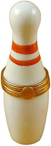 BOWLING PIN – LIMOGES PORCELAIN FIGURINE BOXES AUTHENTIC IMPORTS