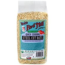 Bob's Red Mill Organic Quick Cook Steel Cut Oats, 22-Ounce by Bob's Red Mill